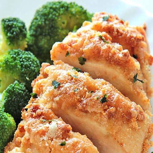 baked-garlic-Parmesan-chicken-keto diet
