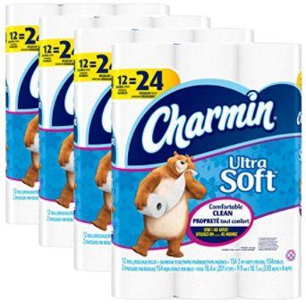 Charmin Ultra Soft Toilet Paper