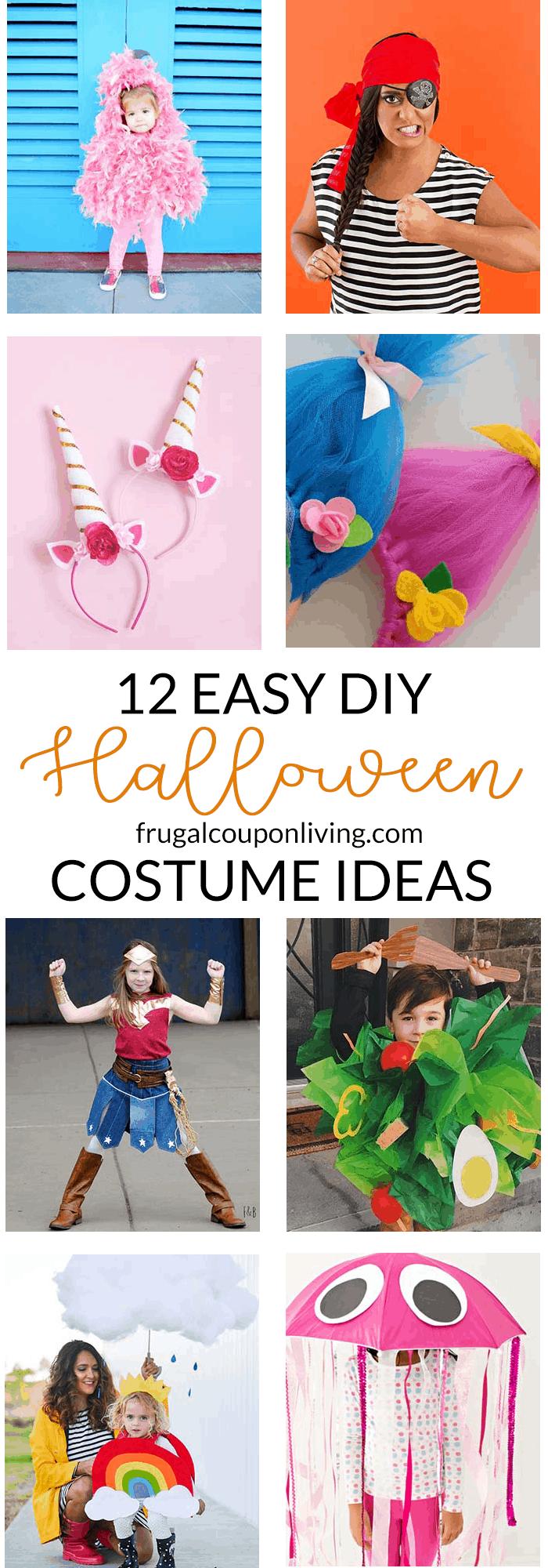 12 Easy DIY Halloween Costume Ideas