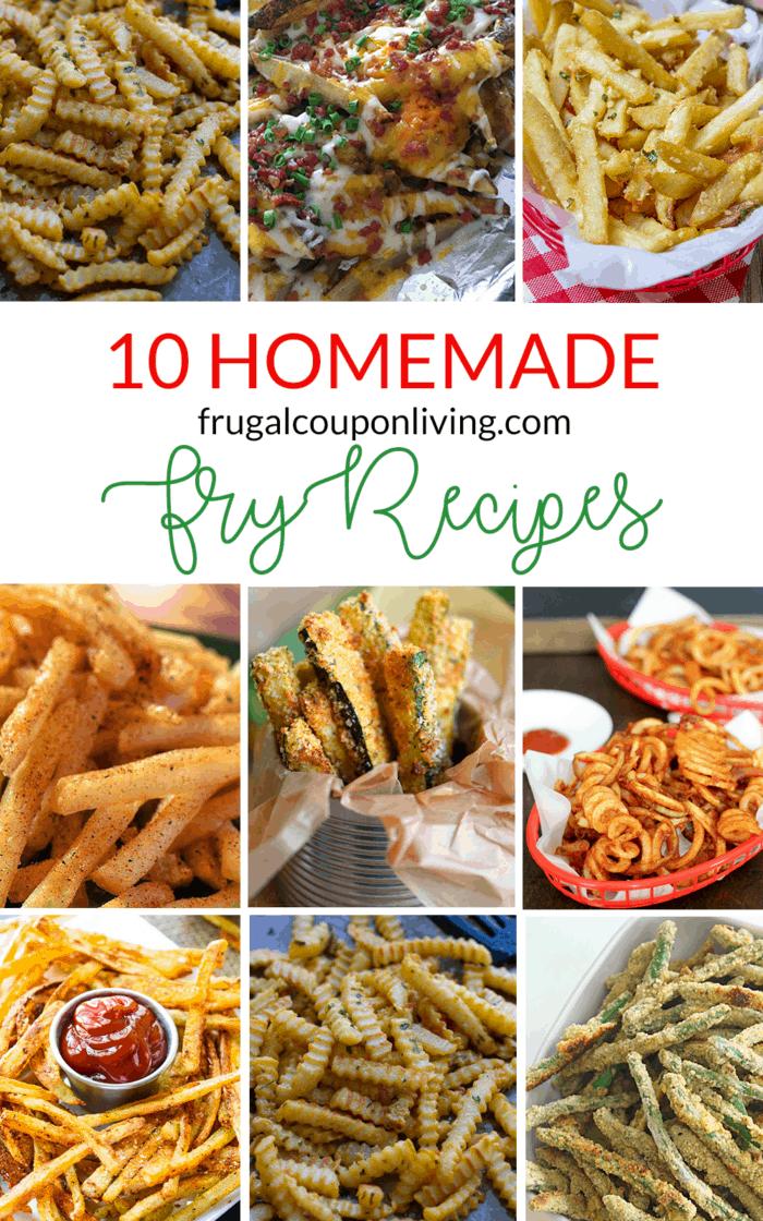 Homemade Fry Recipes