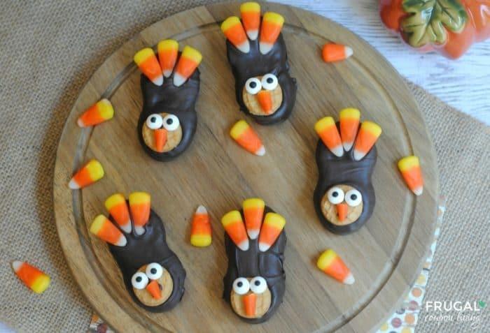 Kids Thanksgiving Food Craft