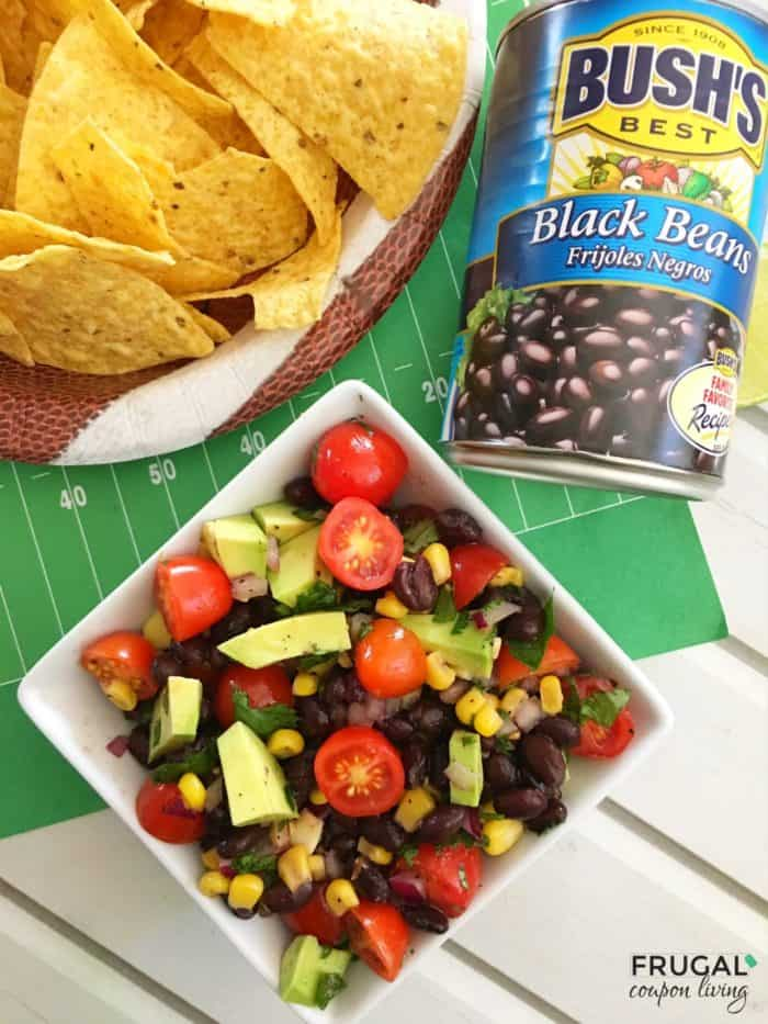 Black Bean Salsa with Avocados