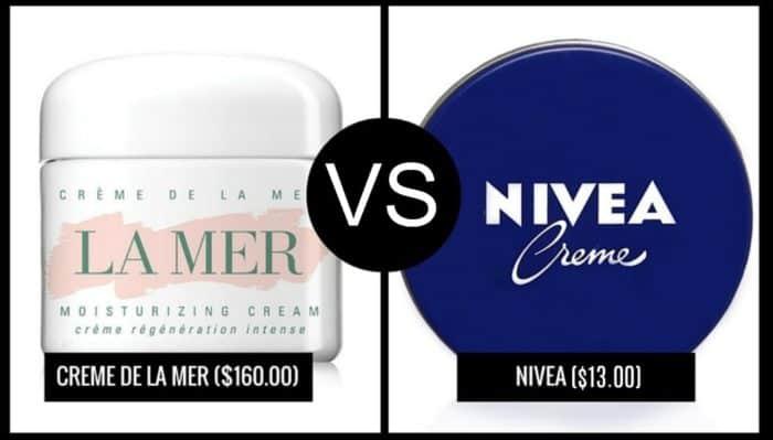 La Mer vs Nivea