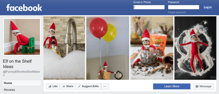 Funny Elf on the Shelf Ideas Facebook Group