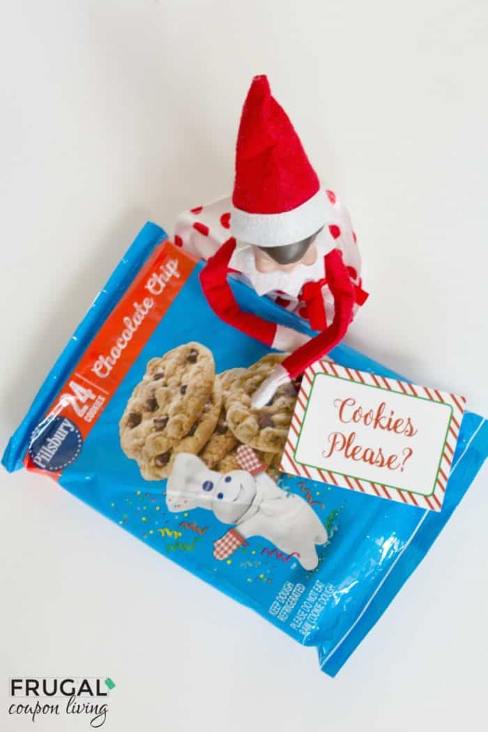 Elf on the Shelf Ideas | Elf Makes Cookies