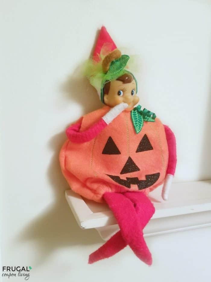 Pumpkin Elf Costume