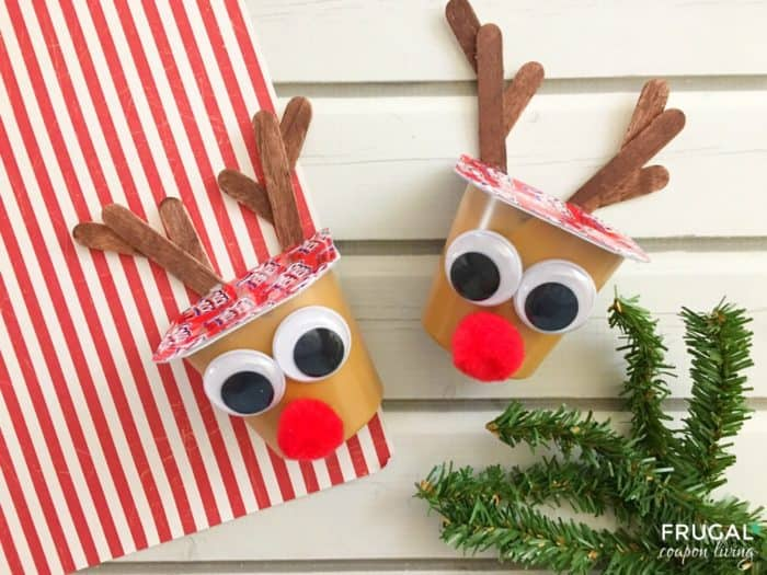 Christmas Food Craft - Rudolph Reindeer Pudding