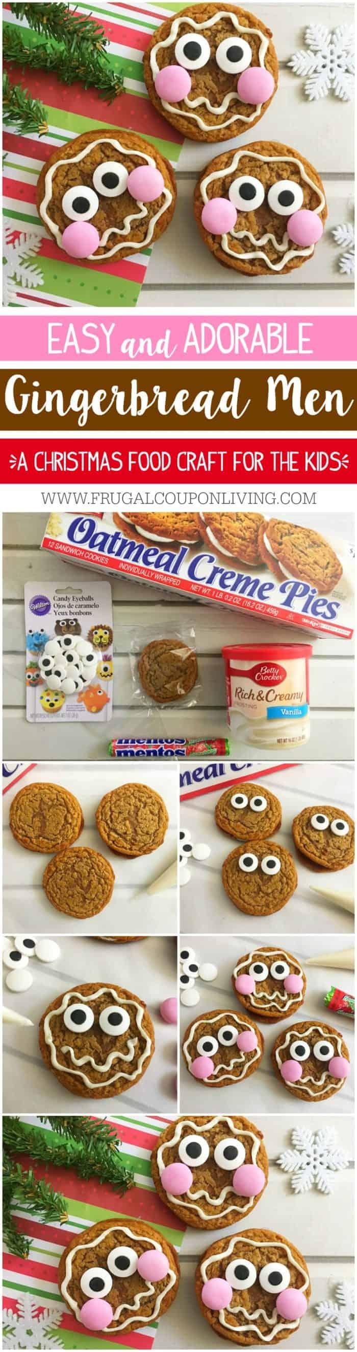Easy Gingerbread Man Cookies