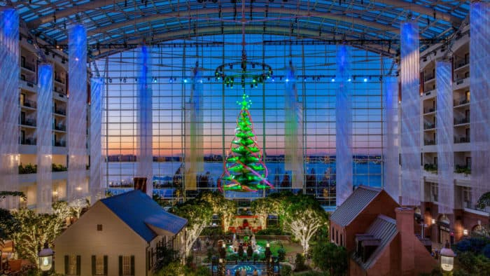 Gaylord National Christmas at the Potomac 2017