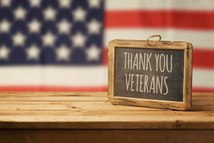 Veteran's Day Discounts