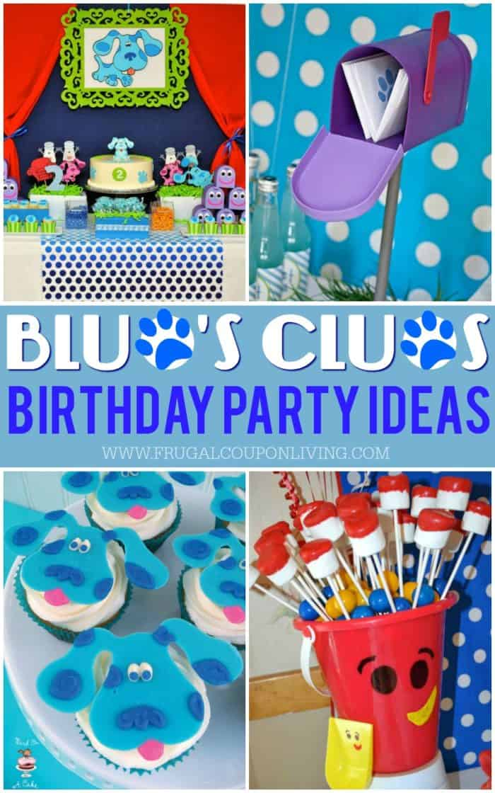 Blue Clues Party Ideas