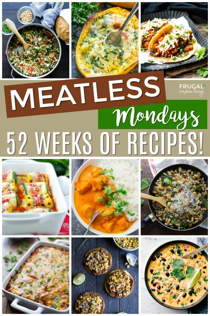 Meatless Monday Recipes and Dinner Ideas
