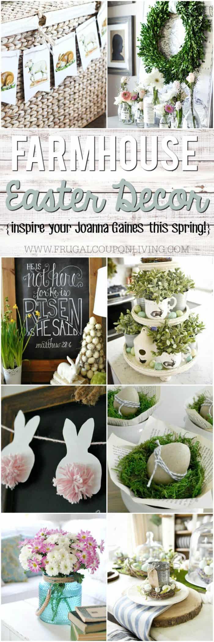 Inspiring Farmhouse Easter Decor