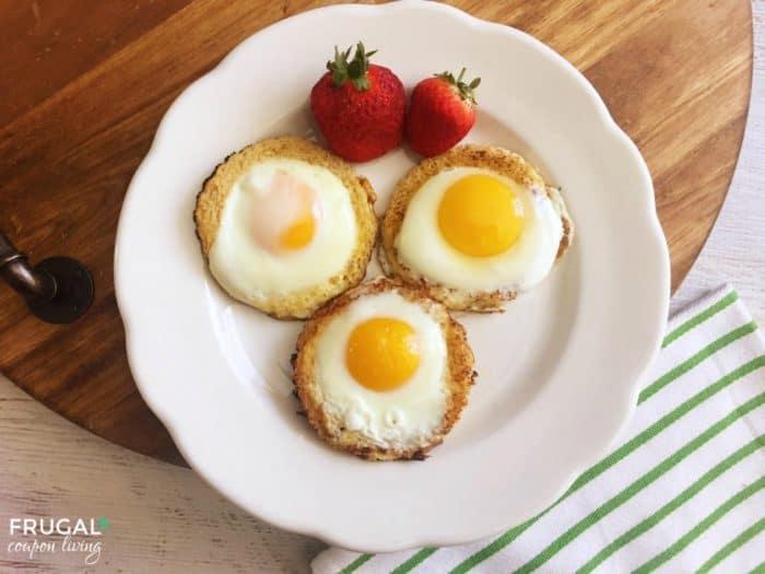 Eggs in a Hole Breakfast Recipe