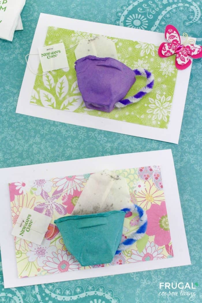 Tea Cup Mother's Day Card Craft