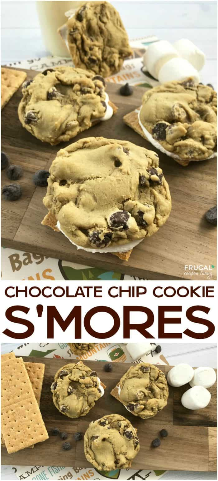 Chocolate Chips Cookie S'mores Recipe