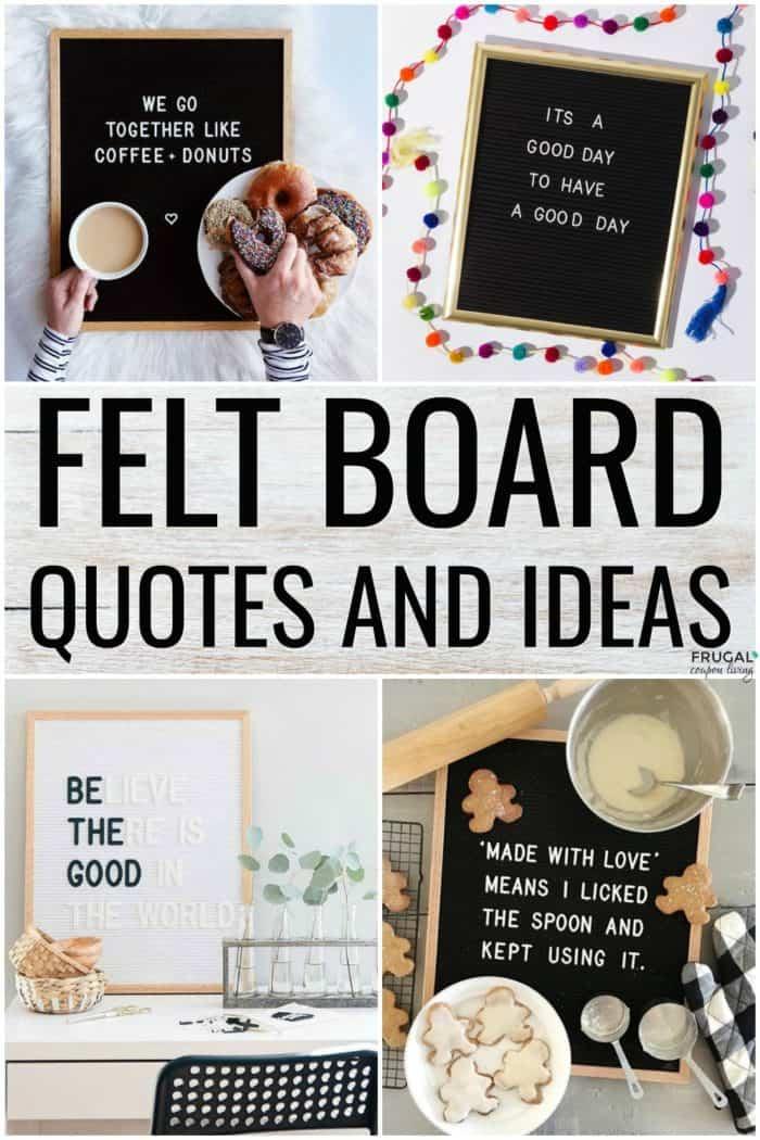Felt Board Quotes and Funny Felt Board Ideas