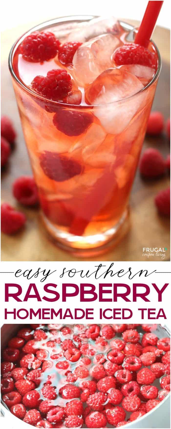 Homemade Easy Raspberry Tea