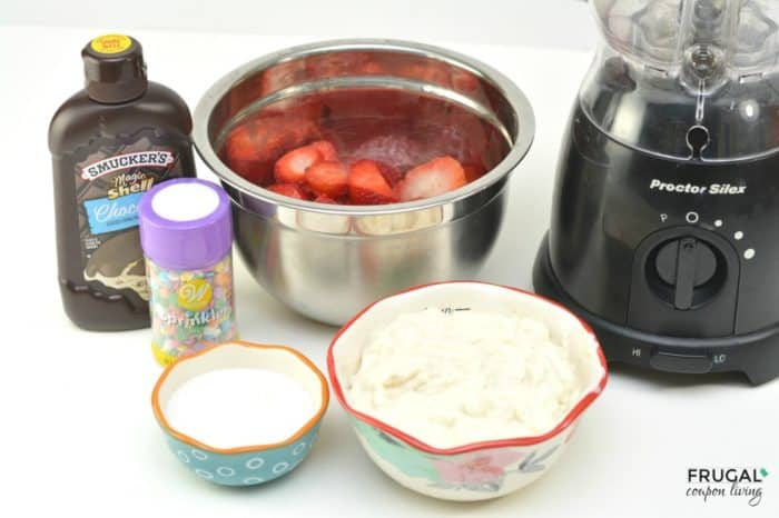 Chocolate Covered Strawberry Popsicles Ingredients