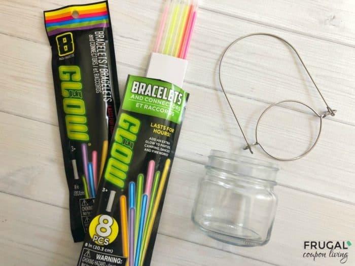 Glow in the Dark Rainbow Lantern Craft Supplies