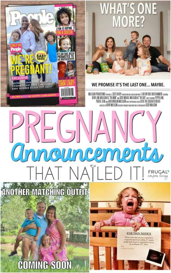 Easy Pregnancy Announcement Ideas That Nailed It