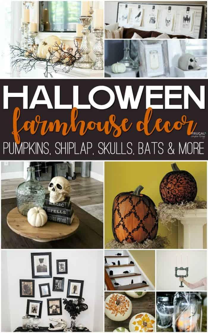 Fall-o-Ween Farmhouse Halloween Decor