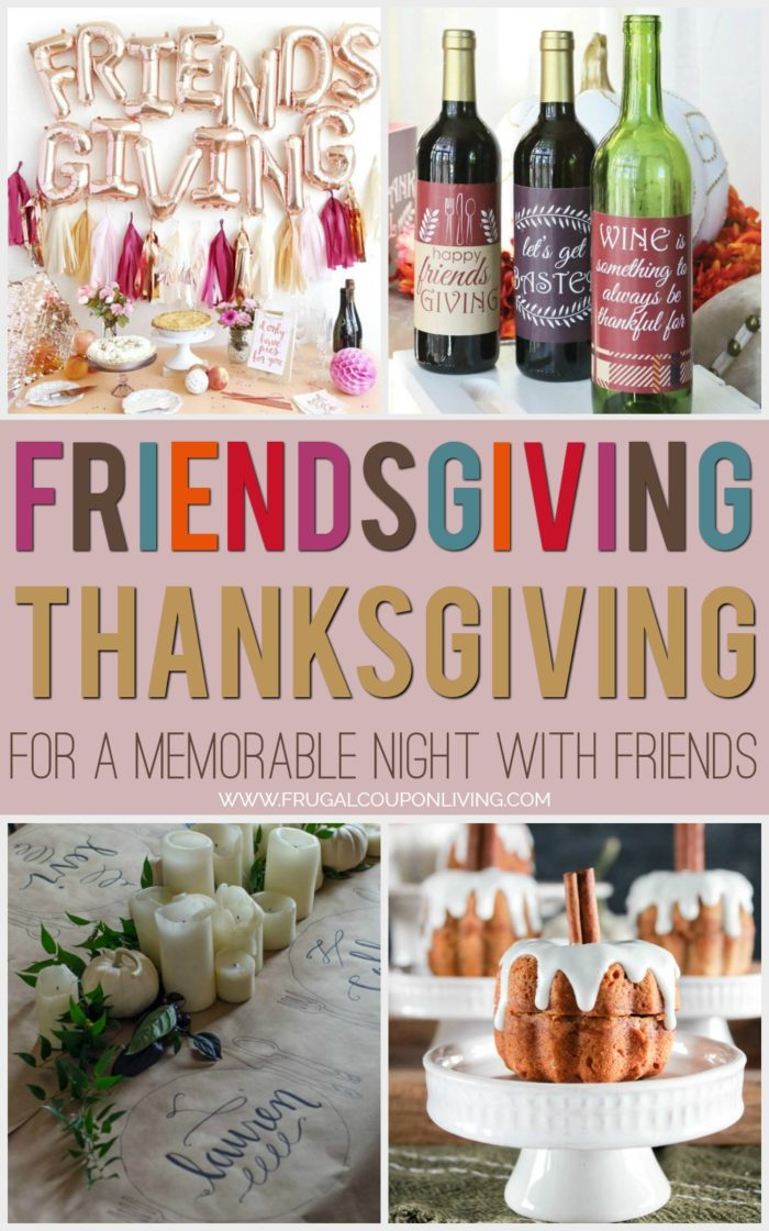 Friendsgiving Thanksgiving Ideas with Friends