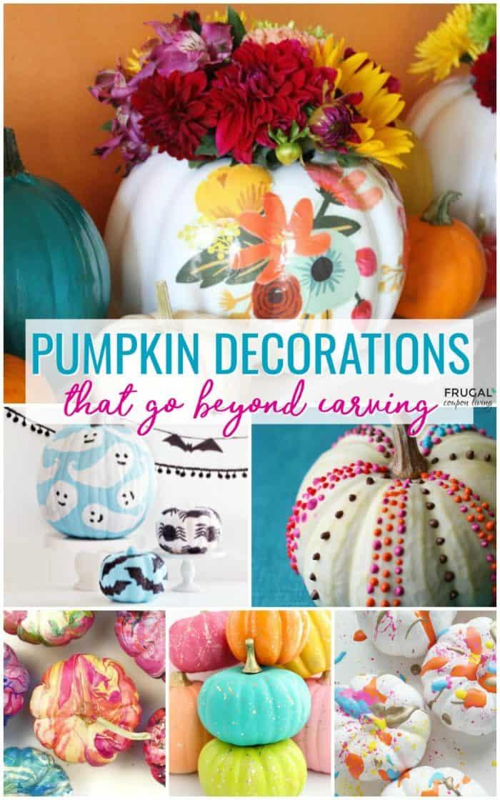20+ Creative Pumpkin Decorations That Go Beyond Carving