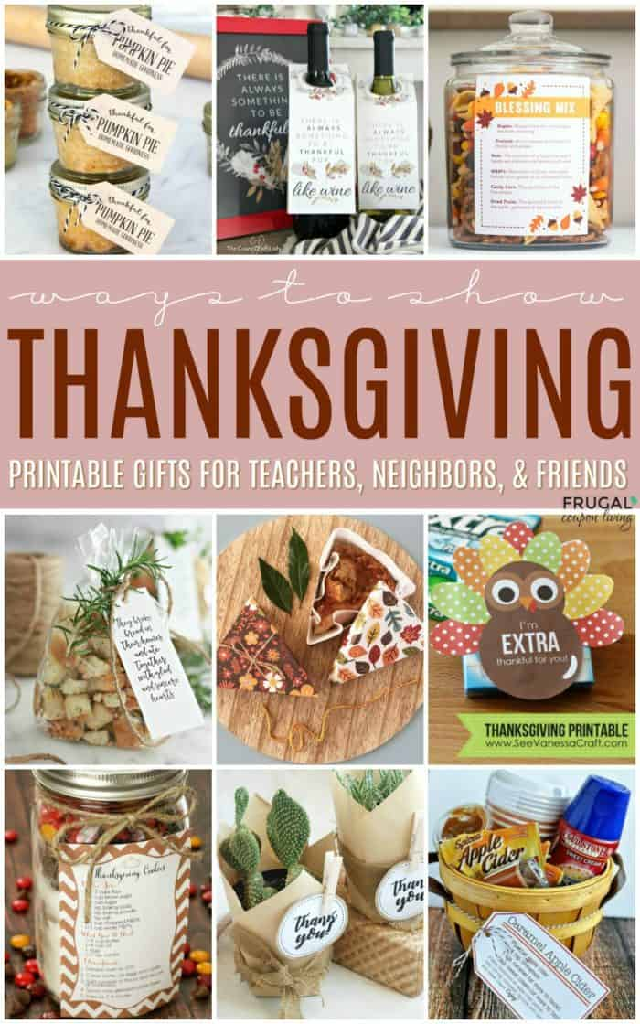 Thanksgiving Gift Ideas for Teachers this Fall