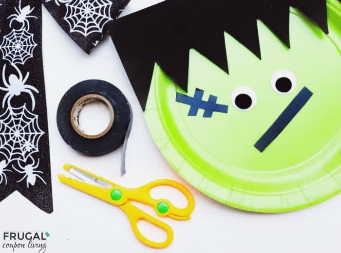 Frankenstein Halloween Preschool Craft Tutorial