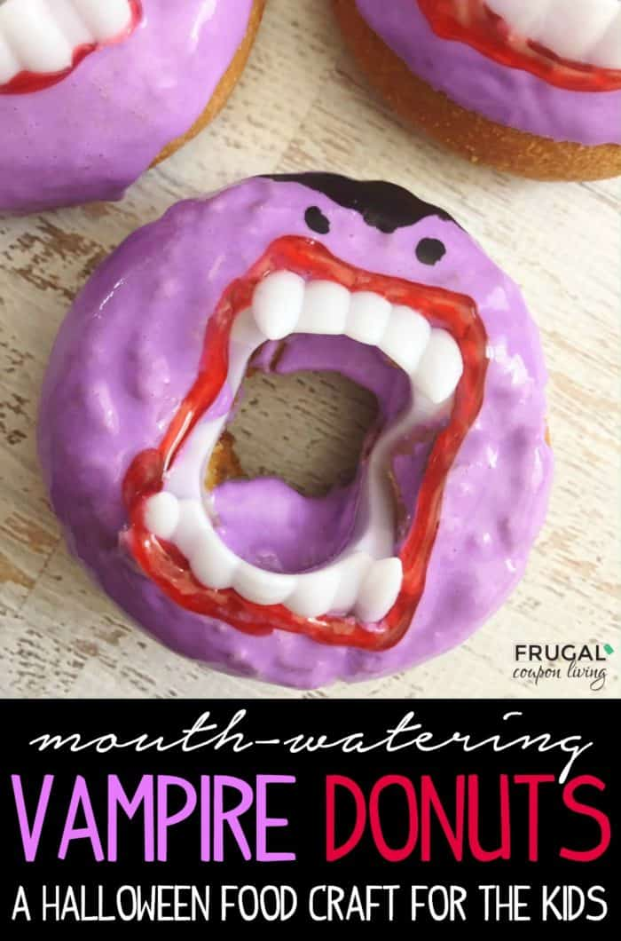 Mouth-Watering Vampire Halloween Donuts