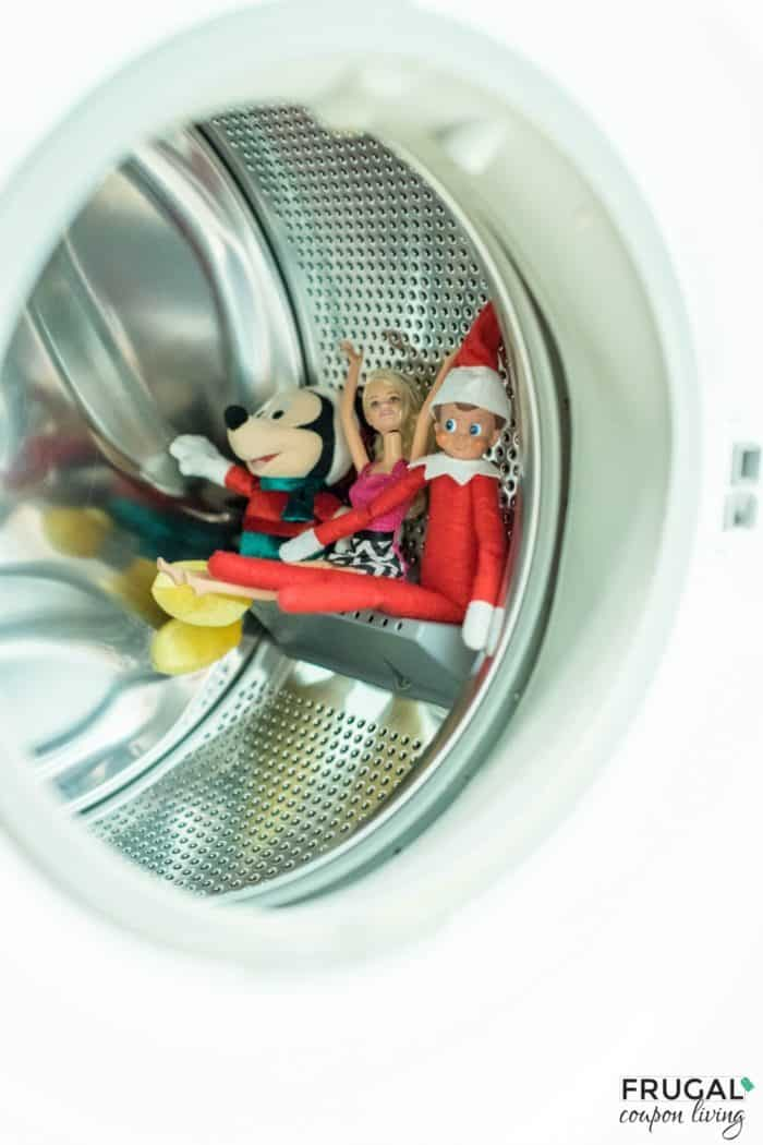Elf on the Shelf Dryer Roller Coaster Ride
