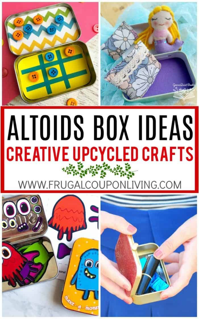 Creative Upcycled Altoids Tin Ideas