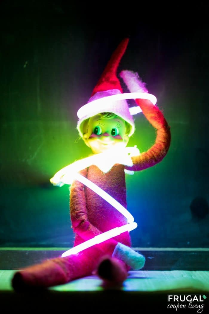 Glow in the Dark Elf - Elf Glow Sticks