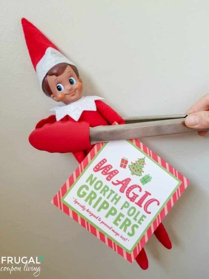 Elf on the Shelf Magic Gripper Printables