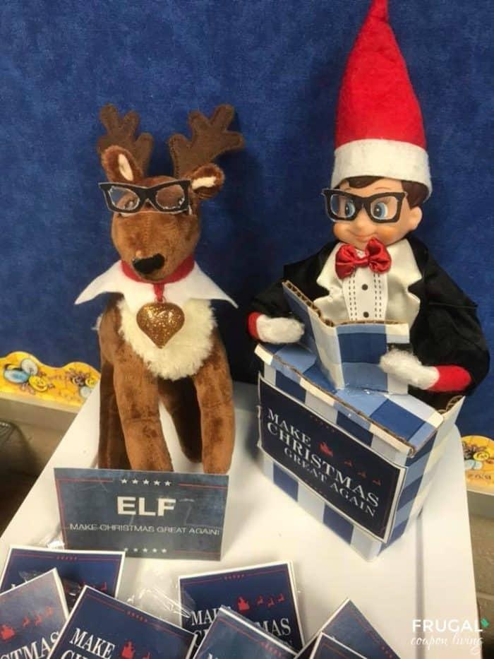 Elf Make Christmas Great Again Printable