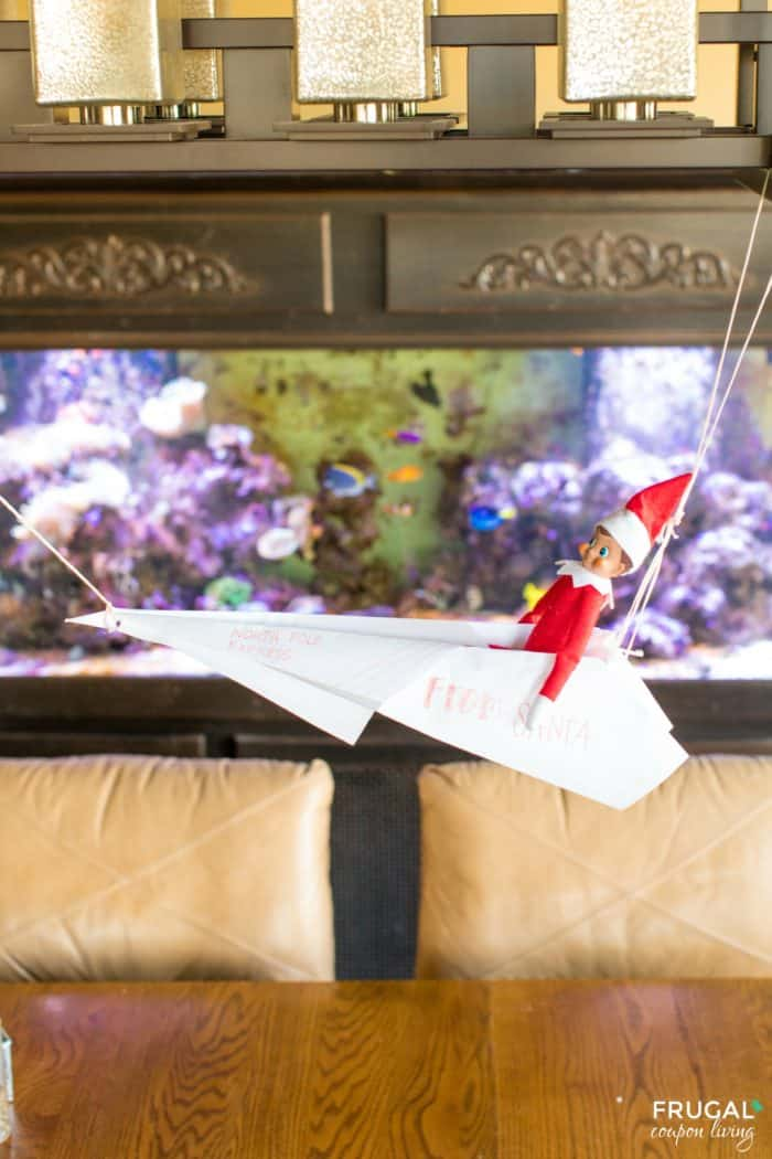 Special delivery! Elf delivers North Pole Mail from Santa