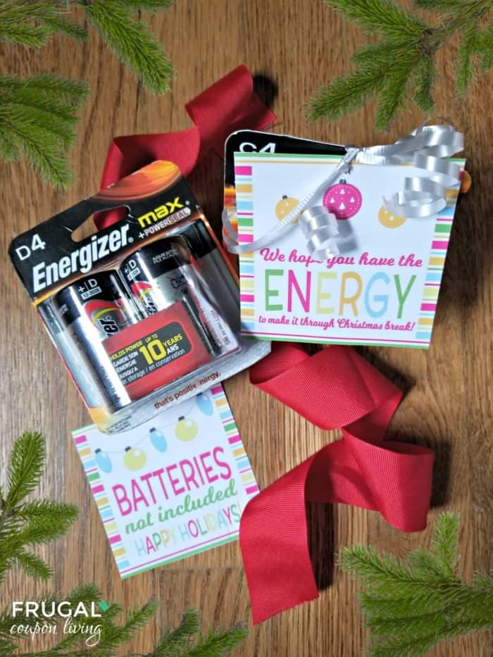 Batteries Not Included Gift Tag