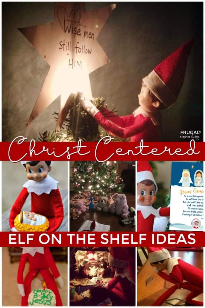 Christian Elf on the Shelf ideas