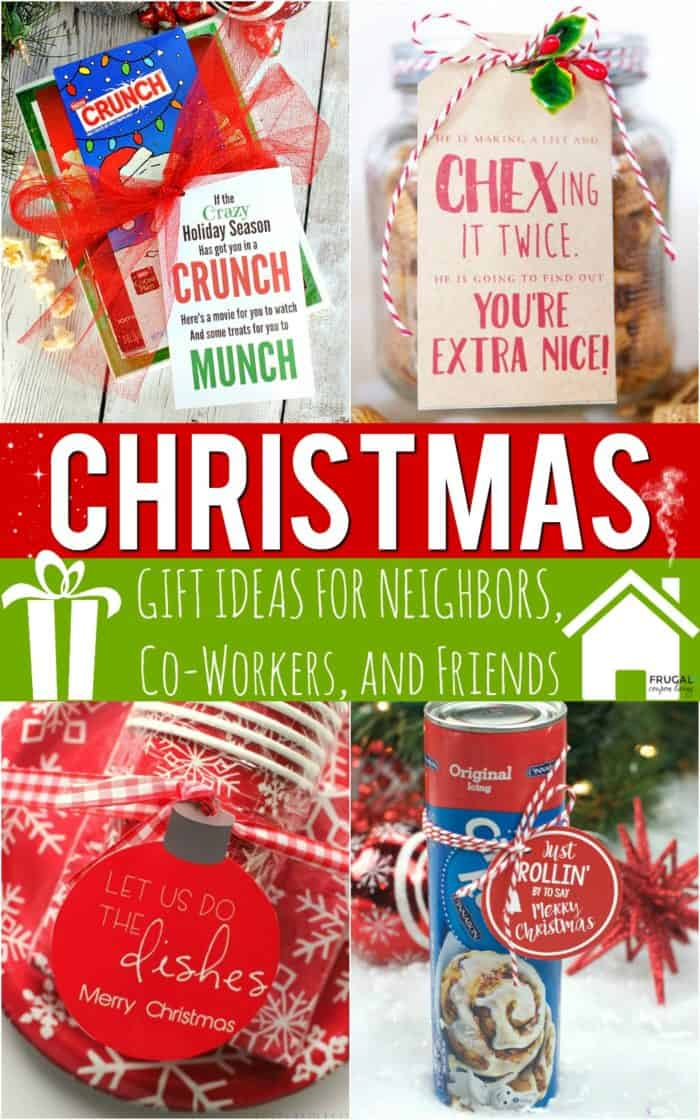 Christmas Gift Ideas For Your Neighbor Teachers Co Workers Friends