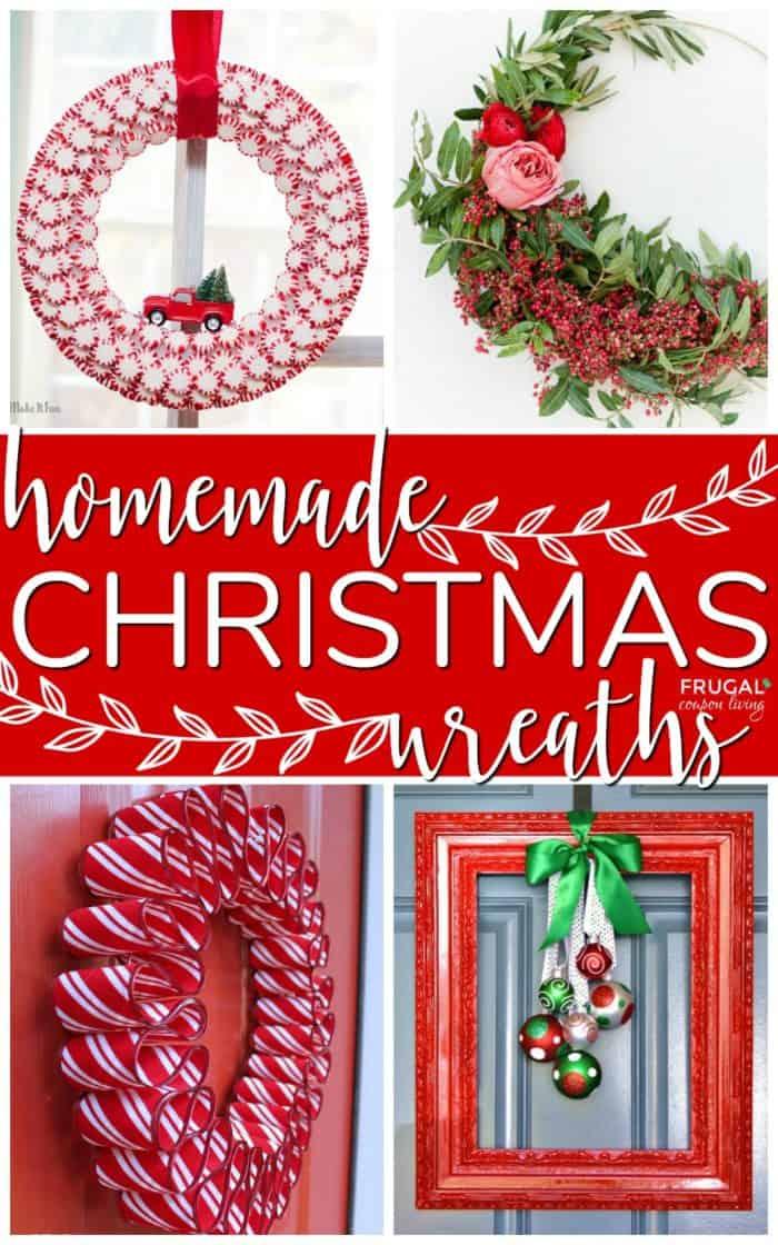 Homemade Christmas Wreaths