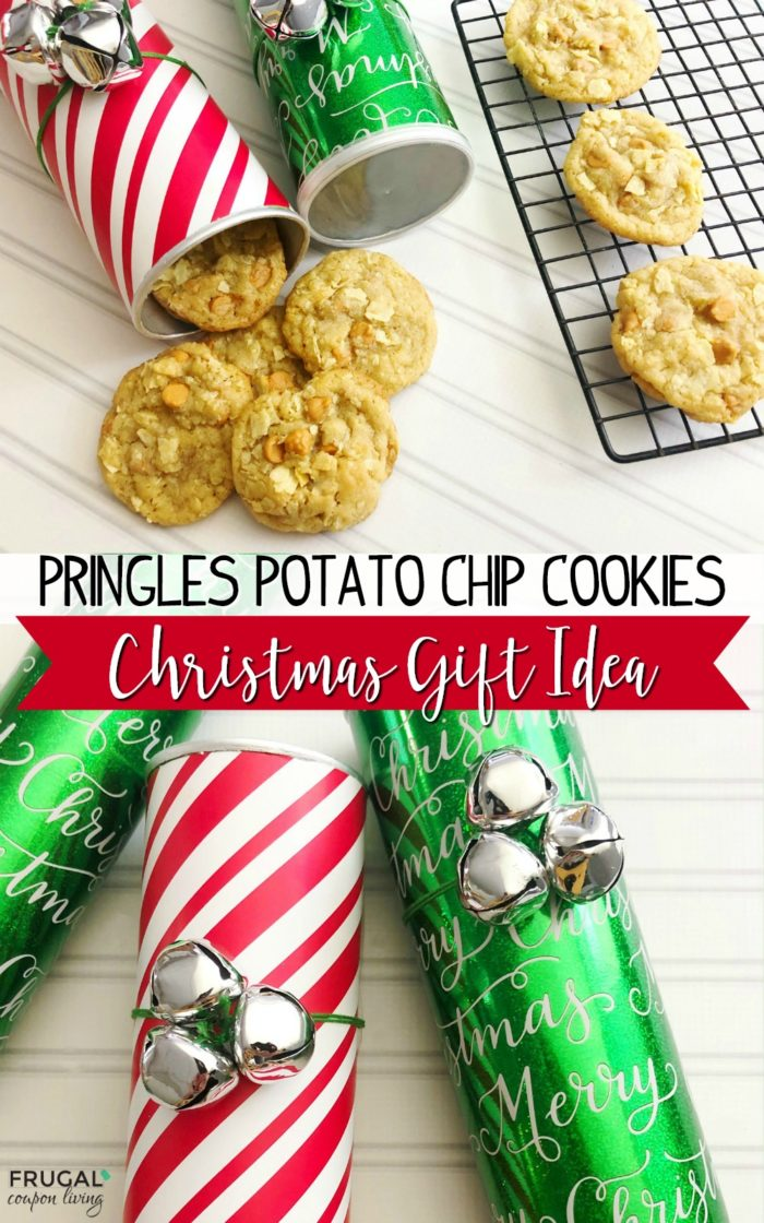 Pringles Potato Chip Cookie Recipe and Pringles Can Craft for Christmas