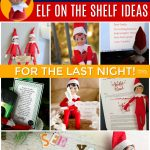 departure elf on the shelf last night