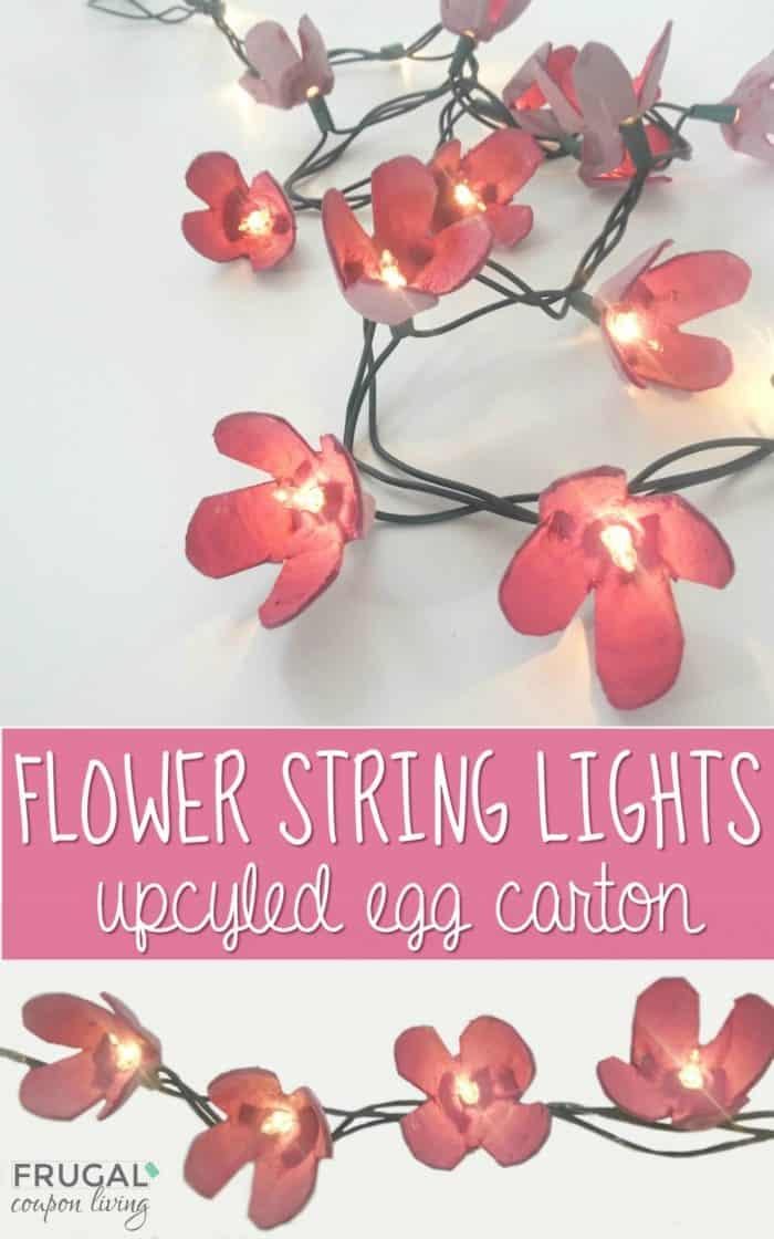 DIY Flower String Lights Tutorial