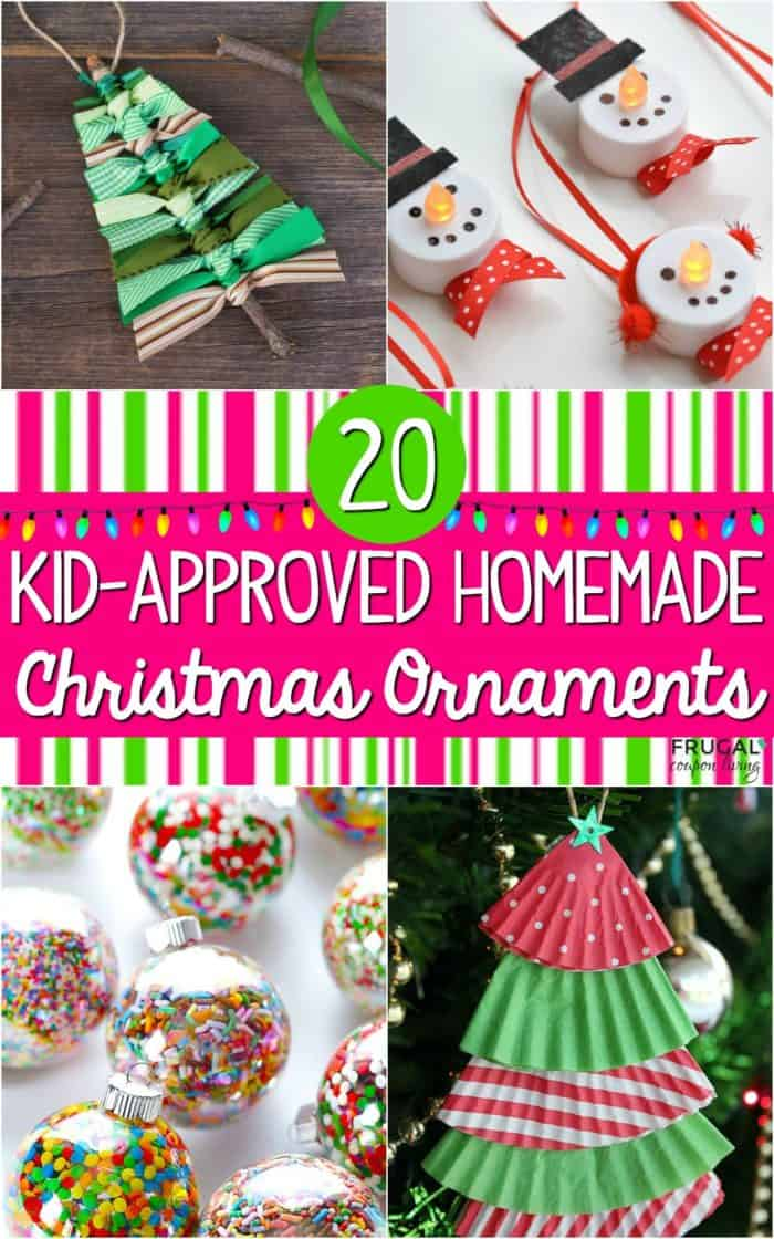 Kid-Approved DIY Christmas Ornaments