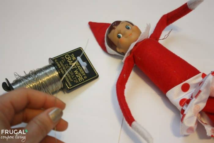 Bendable Elf on the Shelf No Sew Tutorial