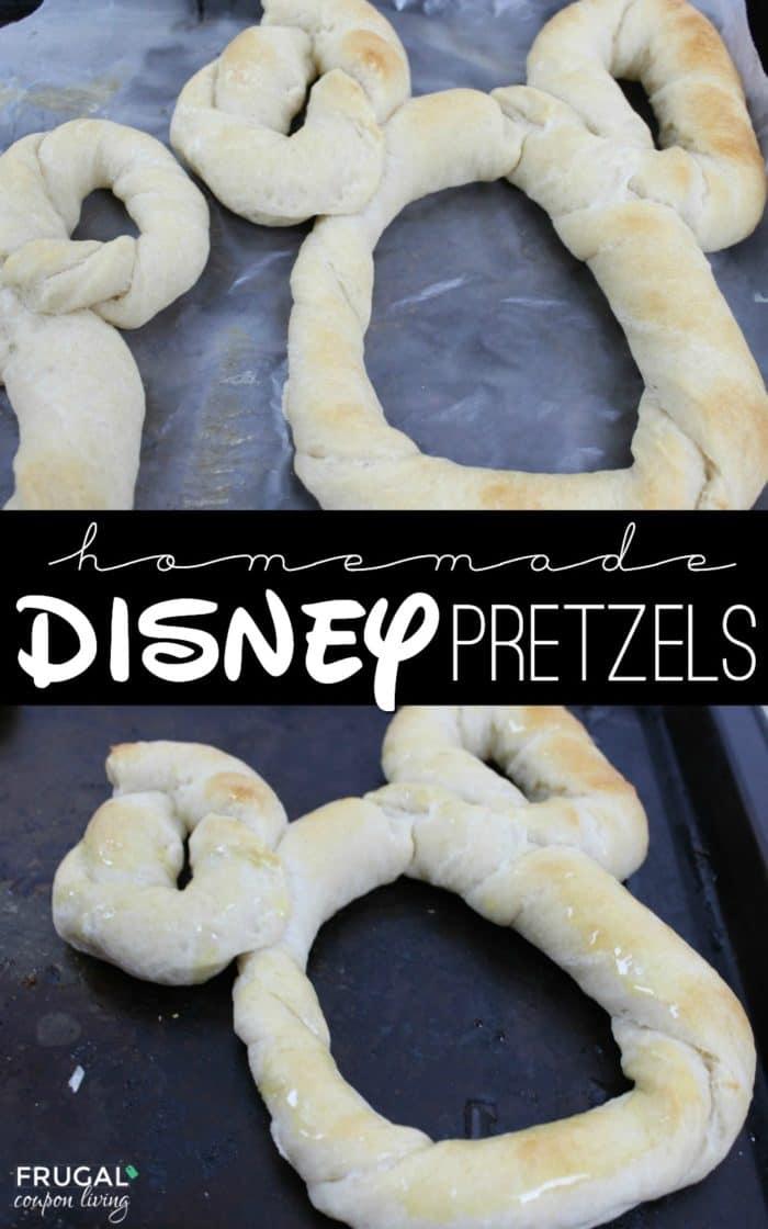 Homemade Disney World Mickey Mouse Pretzels