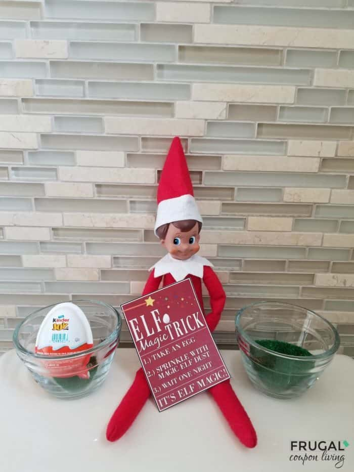 Magic Trick Printable Elf on the Shelf Idea