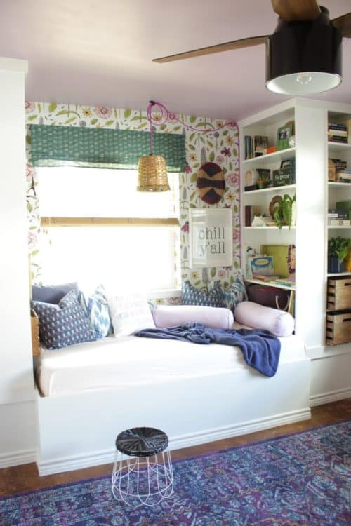 IKEA Billy Bookcase Hack Day Bed