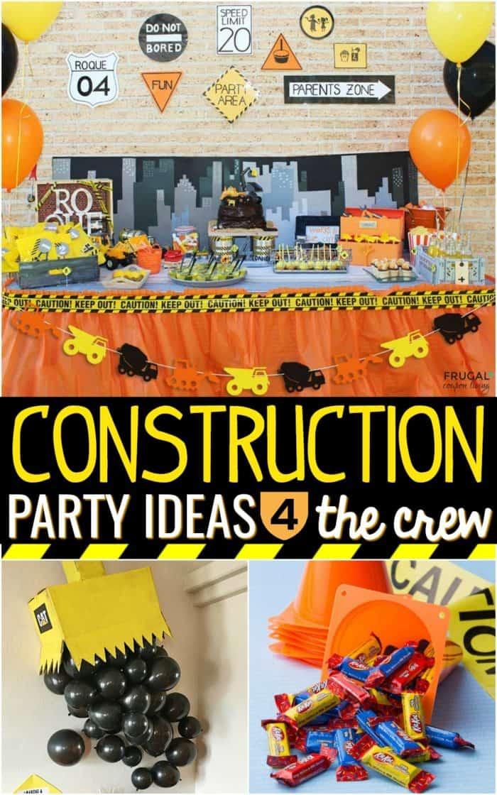 Under Construction Party Ideas